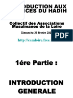 Cours Science Du Hadith Association Musulmane de La Loire