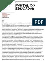 Portal Do Educador - A Assembleia Como Instrumento Pedagógico Para o Exercício Da Democracia