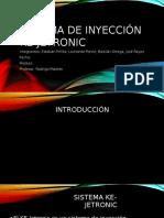Sistema de Inyección Ke-jetronic