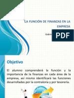 Finanzas en La Empresa Clase 1