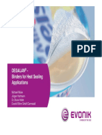 DEGALAN - Binders for Heat Sealing Applications Without Films 2008 12 15