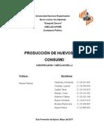 Proyecto Producción de Huevos Para Consumo