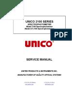 Espectrofotómetro Unico 2100