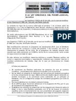 2015 Julio 22 Resumen Reforma LOPJ