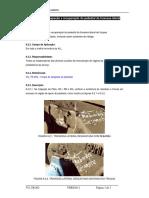 Inspeção e recuperação do pedestal da travessa lateral