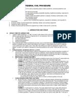 Fed Civ Pro-Outline
