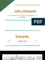 Educación y evaluación..ppt