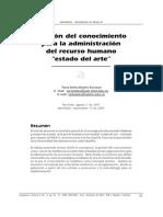 Paper - GestionDelConocimientoParaLaAdministracionDelRH