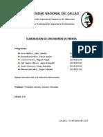 Informe Chicharron de Prensa
