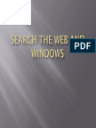 Search the Web and Windows