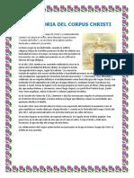 La Historia Del Corpus Christi
