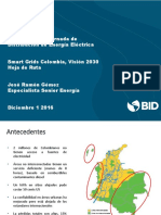 BID SmartGrid Colombia 2016