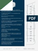 Revista Jurídica da UFERSA v 1 n 1 - 2017