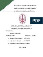 Informe de Quimica 5.Docx