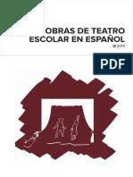 Obras de Teatro Escolar en Español_2014