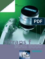 Caudalimetro Mag8000 Para Aguas