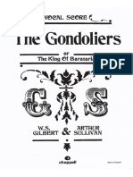 Sullivan The Gondoliers