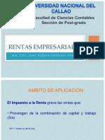 Renta Empresarial Impuestos Directos 2016