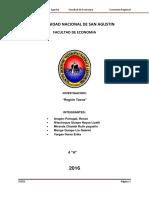 Region de Tacna Trabajo Final