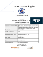 Supplier Assessment Report-Shenzhen Kingstar Mould Co., Ltd.