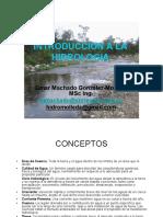 03. Introducción a La Hidrología