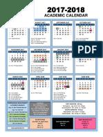 2017-2018 qisd school calendar formatted to print