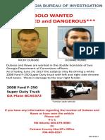 BOLO for Georgia fugitives