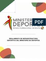 230-Reglamento de Infraestructura Deportiva