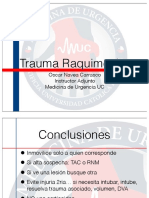 Trauma Raquimedular O.navea 2013