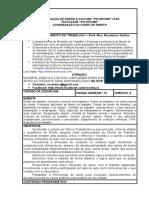 Programa- Direito Do Trabalho i - 2016-2