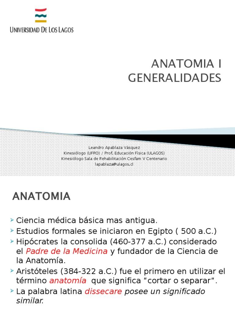 1° ANATOMIA GENERALIDADES ULAGOS-OSORNO