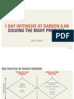 Solving the Right Problem (UVA iLab)