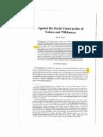 Social Construcitn of Nature