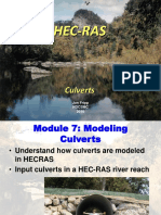 Module 7 HECRAS Culverts 2016