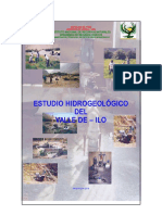 Estudio Hidrogeologico de Ilo