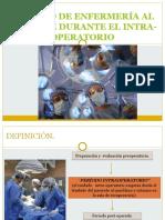 CUIDADO DE ENFERMERÍA AL PACIENTE DURANTE EL INTRA-OPERATORIO.pptx