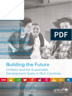 Building the Future - Children and the Sustainable Development Goals in Rich Countries