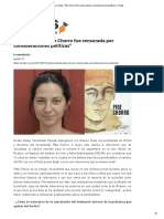 "Andrea Testa_ ""Pibe Chorro Fue Censurada Por Consideraciones Políticas"" _ Notas"