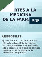 Aportes a La Medicina Farmacia