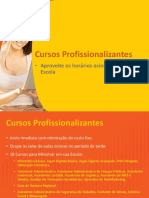 2apresentacaocursoprofissionalizanteseducar20145-140704183809-phpapp02