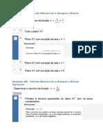 Cálculo Diferencial e Integral a Varias Variáveis