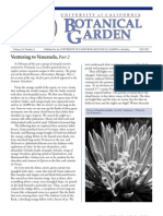 Fall 1999 Botanical Garden University of California Berkeley Newsletter