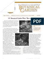 Spring 2000 Botanical Garden University of California Berkeley Newsletter