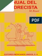 Manual del Ajedrecista - M, Ricart..pdf