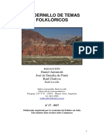 Folklore 17 Catamarca