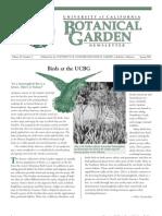 Spring 2001 Botanical Garden University of California Berkeley Newsletter