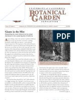 Fall 2001 Botanical Garden University of California Berkeley Newsletter