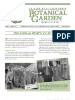 Winter-Spring 2002 Botanical Garden University of California Berkeley Newsletter