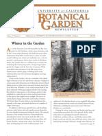 Fall 2002 Botanical Garden University of California Berkeley Newsletter