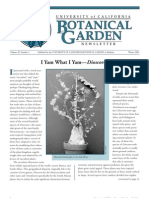 Winter 2003 Botanical Garden University of California Berkeley Newsletter